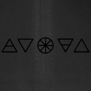 Alchemy Symbols Nature - Flexfit Baseball Cap