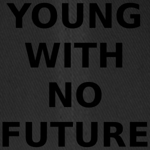 YOUNG WITH NO FUTURE - Flexfit Baseball Cap