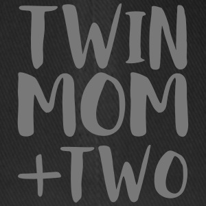 Twin Mom + 2 - Flexfit Baseballkappe