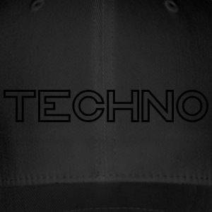 Techno - Flexfit Baseball Cap