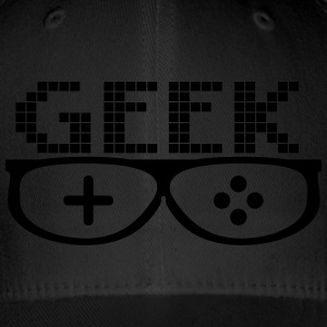 Geek Glasses - Flexfit Baseballkappe