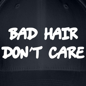 Bad hair dont care - Flexfit baseballcap