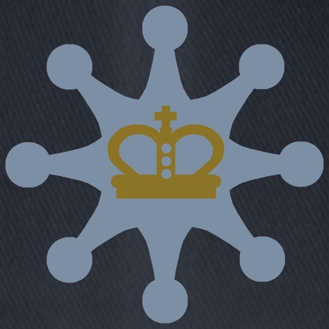 Acht Bauern schützen den König