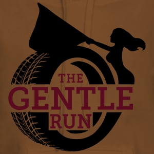 The Gentle Run - Felpa con cappuccio premium da donna