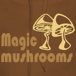 magic mushrooms - Bluza damska Premium z kapturem
