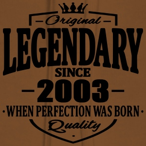 Legendary since 2003 - Sweat-shirt à capuche Premium pour femmes