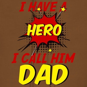 Vatertag: I Have A Hero. I Call Him Dad. - Frauen Premium Hoodie