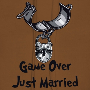 Game Over Just Married - Premium hettegenser for kvinner