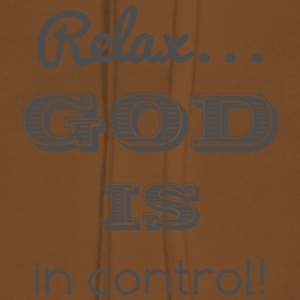 Ontspan God in controle - Vrouwen Premium hoodie