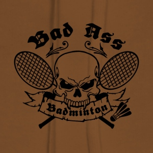 BAD ASS BADMINTON - Women's Premium Hoodie