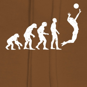 VOLLEYBALL EVOLUTION! - Dame Premium hættetrøje