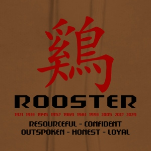 Year of The Rooster - Women's Premium Hoodie