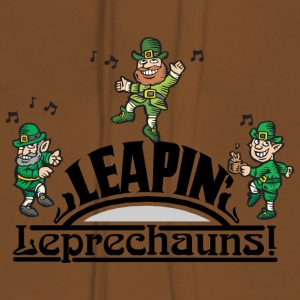 Irish Leaping Leprechauns - Sweat-shirt à capuche Premium pour femmes