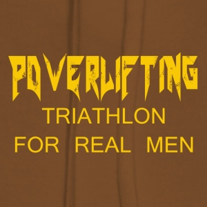 TRIATHLON FOR REAL MEN - Women's Premium Hoodie