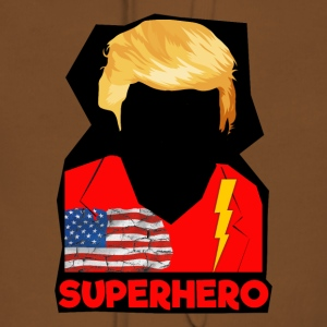 Super Donald / Orange Trump Tear-rive - Premium hettegenser for kvinner
