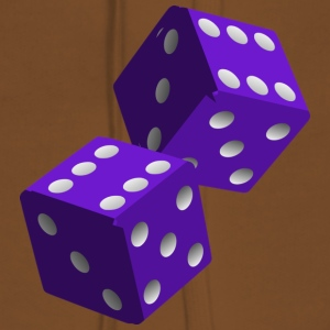 Purple Dice - Premium hettegenser for kvinner