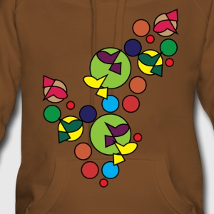 Abstract Design 002 - Women's Premium Hoodie