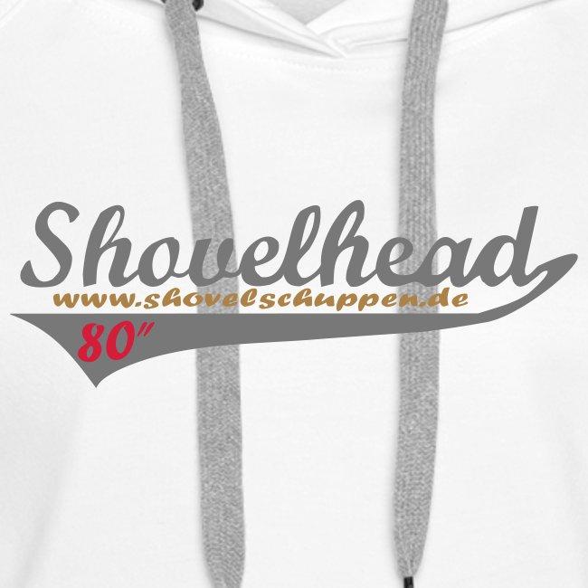 """Shovelheadschriftzug 80"""" im """"Baseballdesign"""""""