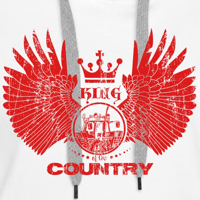 IH KING of the COUNTRY (Red design)