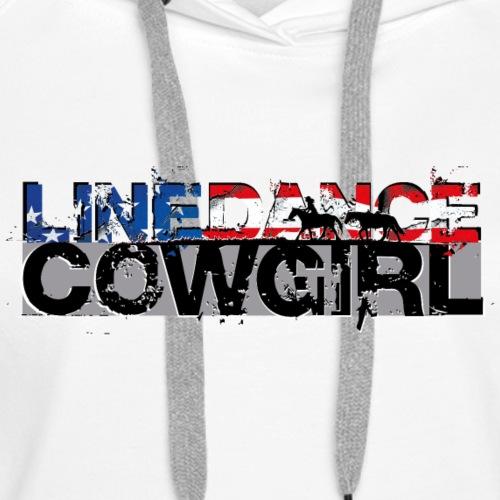 kl_linedance69c - Women's Premium Hoodie