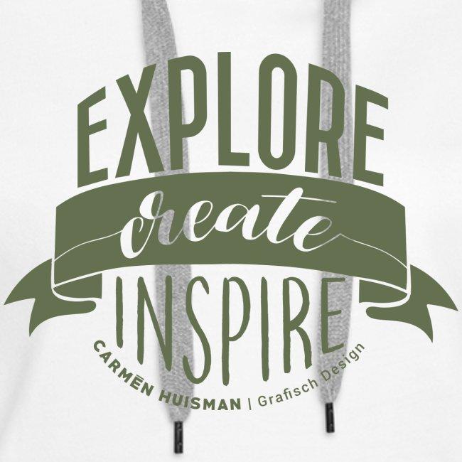 Explore, Create & Inspire Green