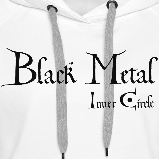 black metal Inner Circle, black ink