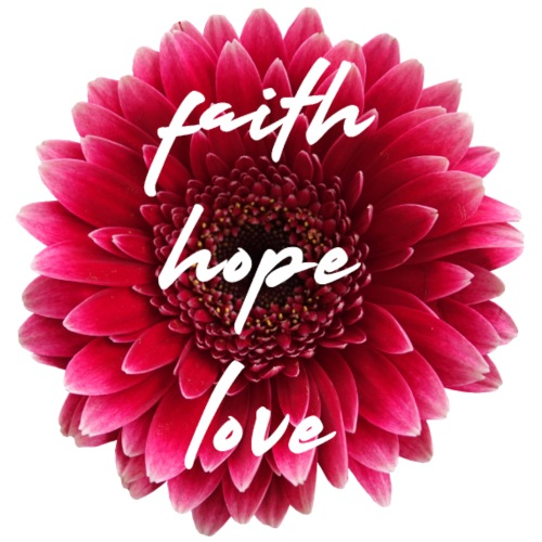 faith love hope 0PD22 - Frauen Premium Hoodie