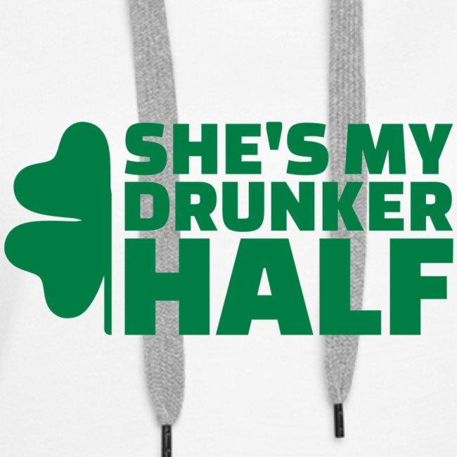 SHE'S MY DRUNKER HALF