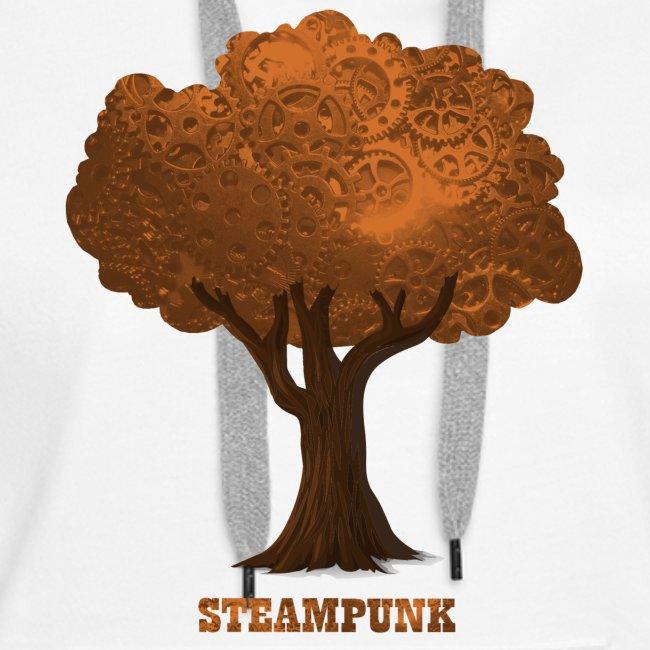 Steampunk Baum Tree Gear