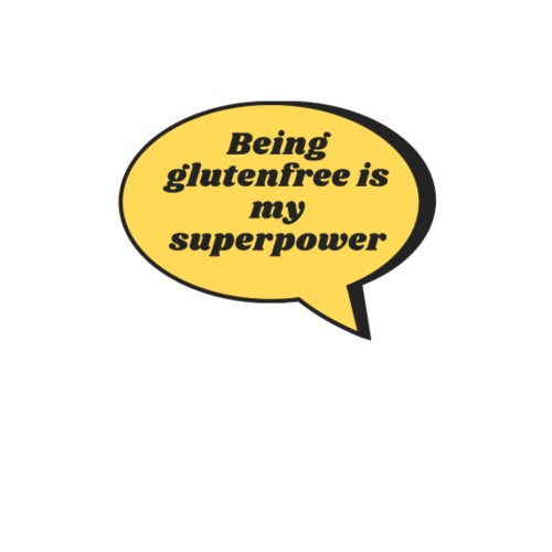 Being glutenfree is my superpower - Frauen Premium Hoodie