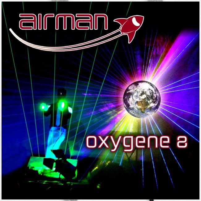 airman oxygene 8 - Albumcover