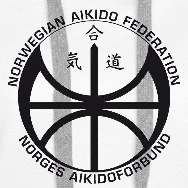 Svart NAF logo