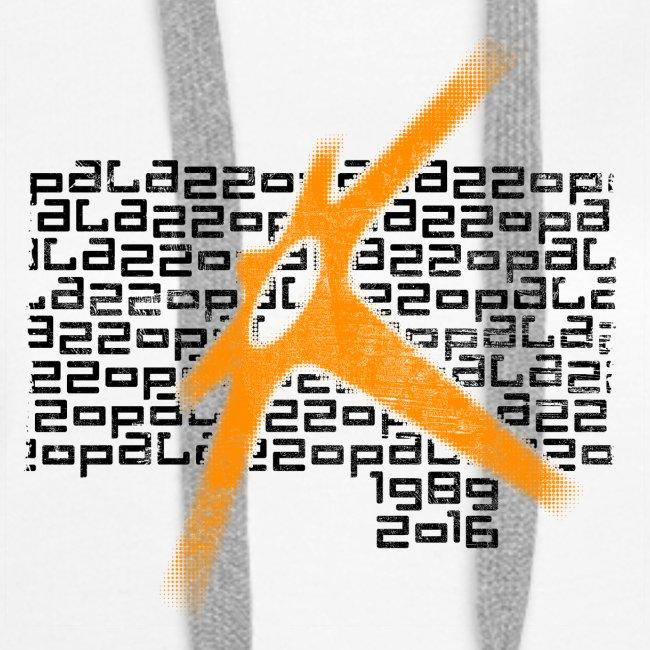 Palazzo Textblock auf weiss/on white
