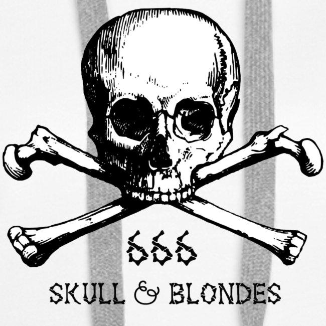 skull & blondes (black)