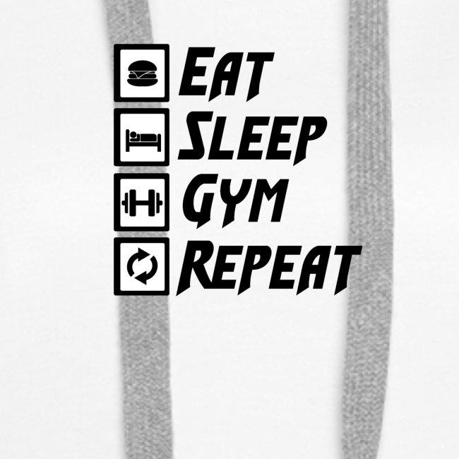Eat Sleep Gym Repeat Tank Top