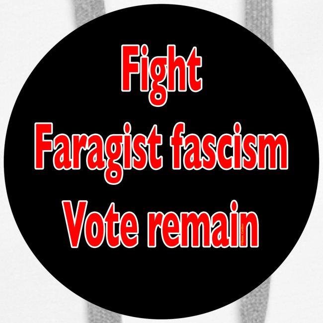 Fight Faragist fascism referendum murder of Jo Cox