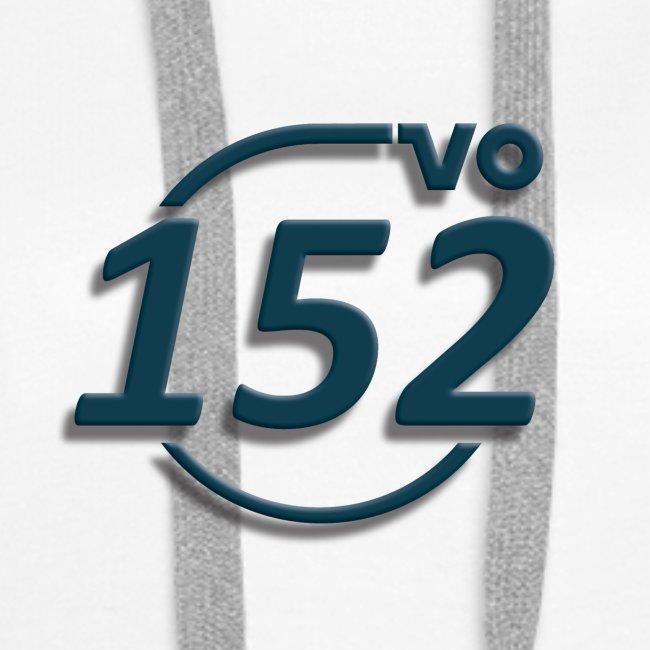 152VO Klassenzeichen petrol ohne Text