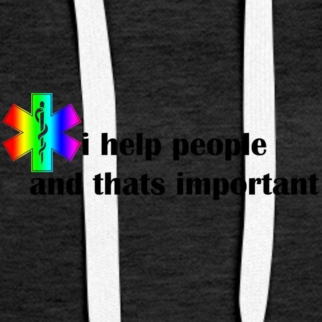 i help people