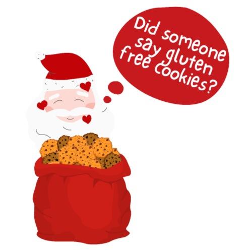 Santa goes gluten free - Frauen Premium Hoodie