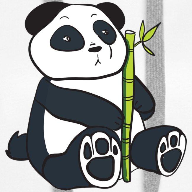 Oso Panda con Bamboo