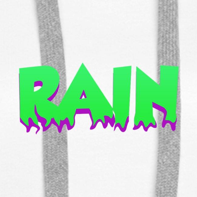Rain Hoodie 3 White