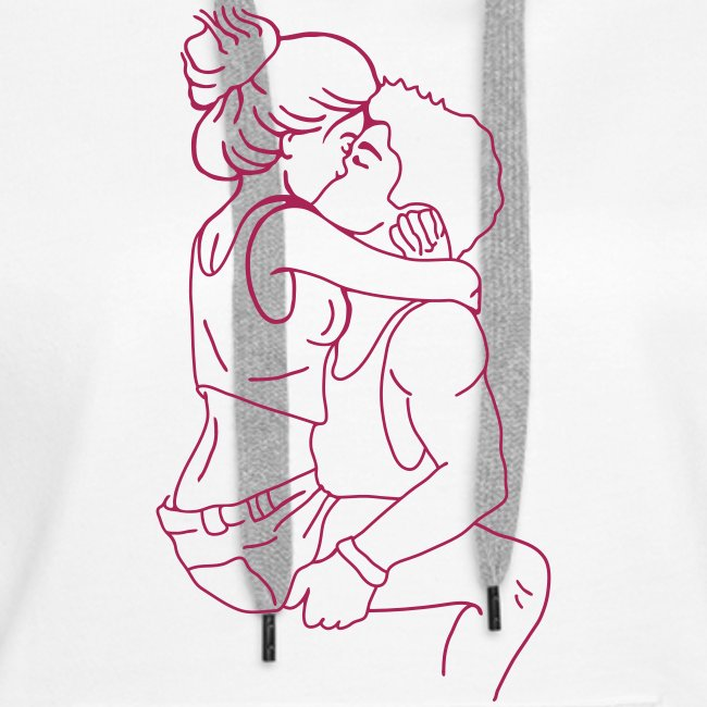 couple in love kissing kb2