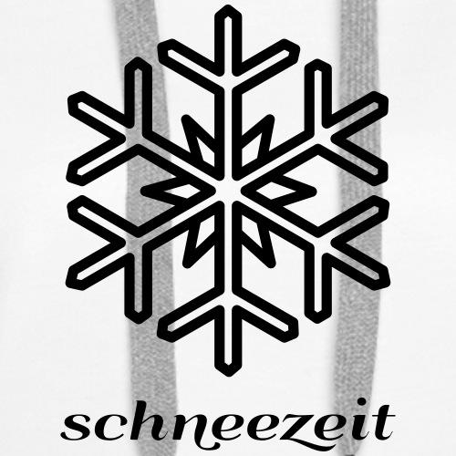 snow time logo 8SZ01 - Women's Premium Hoodie