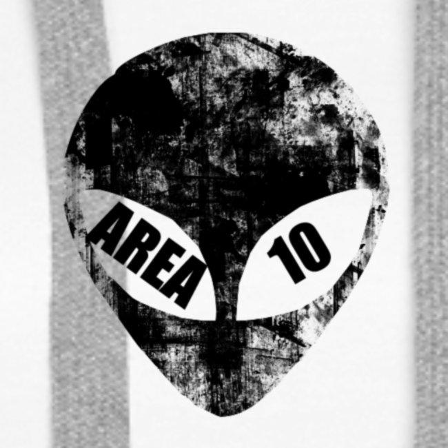 area 10 plain logo male polo top
