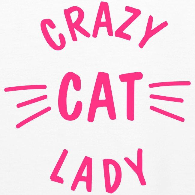 Vorschau: Crazy Cat Lady meow - Frauen Premium Hoodie