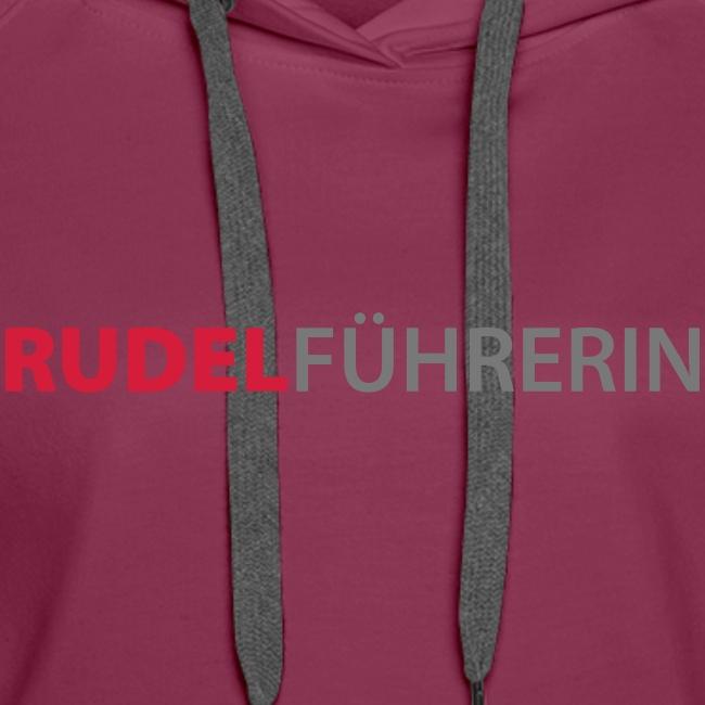 Vorschau: Rudelführerin - Frauen Premium Hoodie