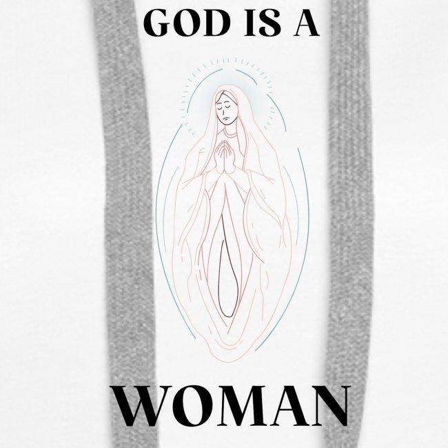 GOD IS A WOMAN