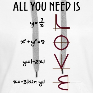 All you need is Love (Equations) - Frauen Premium Hoodie