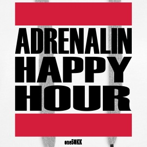Adrenalin Happy Hour - Frauen Premium Hoodie
