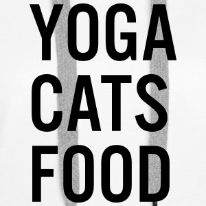 YOGA CATS FOOD LADIES ORGANIC TANK TOP - Premiumluvtröja dam